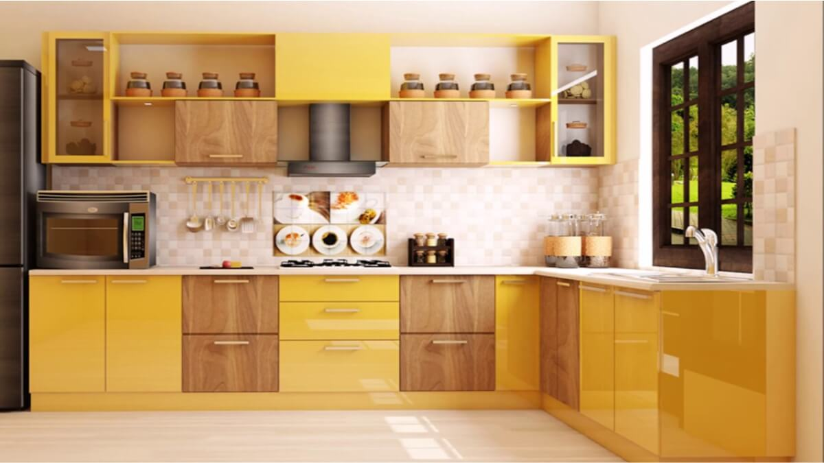 L Shaped Kitchen