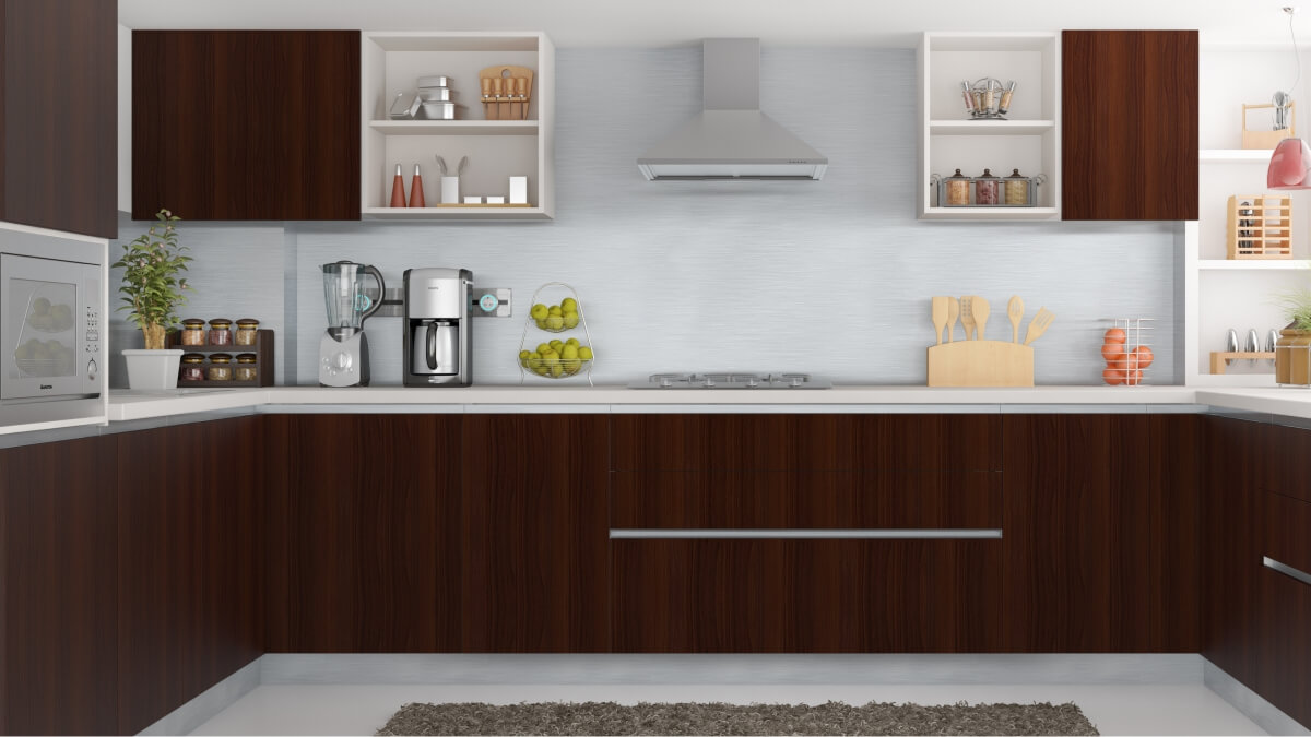 Laminate Shutter For Ypur Dream Kitchens By Sunrise Kitchen World